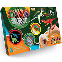 Набор для творчества Danko Toys Dino Art (6257,DA-01-03)