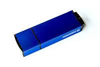 Флешки EDGE синие под нанесение логотипа на 8, 16, 32 Гб лазерная гравировка