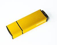 Флешки EDGE під нанесення логотипу на 8, 16, 32 Гб лазерне гравіювання жовті, фото 1