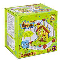 Деревянная каталка с пальчиковым лабиринтом Fun Game (7368)