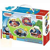 Пазл Trefl Baby Classic Томас и его друзья 14 элементов (36066)