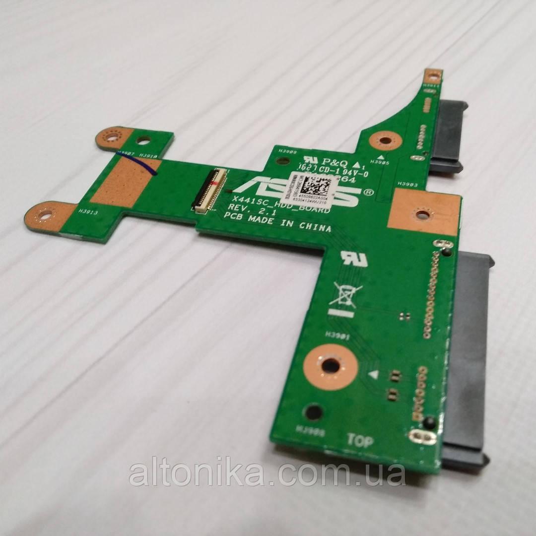 Плата дополнительная для ноутбука Asus X441SC X441SA hdd board 90NB0CD0-R10020