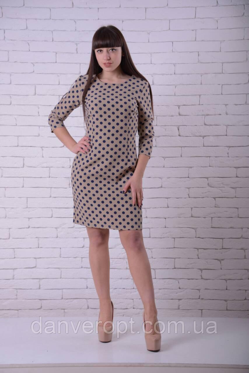 36013591e38 Платье женское модное стильный горох размер 44-50