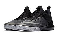 Баскетбольные кроссовки Nike Zoom Shift Black Grey, фото 1