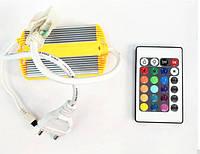 Контроллер для светодиодного неона Biom 220В RGB IP68 1200W с ИК пультом