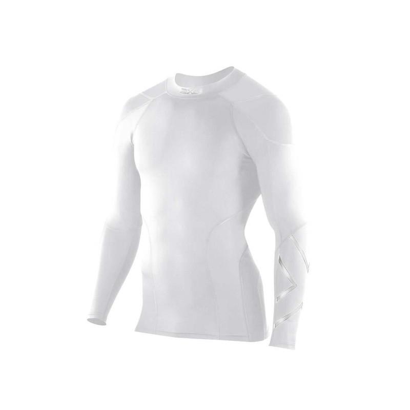 Мужская компрессионная элитная футболка с длинным рукавом 2XU для игры в гольф