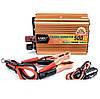 Преобразователь UKC 24V-220V 500W автомобильный инвертор