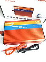 Преобразователь 24V-220V 2500W инвертор, фото 1