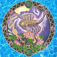Схема для вышивки бисером Знаки Зодиака. Скорпион РКП-012