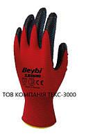 Перчатки рабочие нитриловые ZEBRA (тм Beybi)