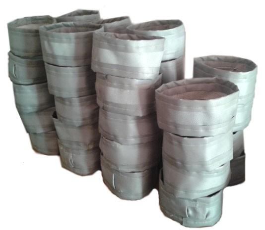 Ленточные тканевые компенсаторы (гибкие вставки)