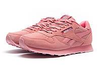 Кроссовки женские Reebok Classic, розовые 1071-1