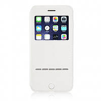 Чехол-книжка G-Case для Apple iPhone 6 Plus/6s Plus White (PC-002179)