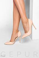 Нюдовые лаковые туфли 27468, фото 1
