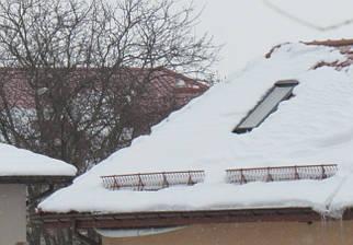 Комплект Решетчатые снегозадержатели 2 * 0.18 м для для керамической черепицы и сланцевой кровли