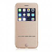 Чехол-книжка G-Case для Apple iPhone 8/7 Gold (PC-002184)