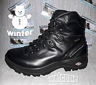 Зимние Ботинки Grisport 11520 кожа черные italy, Gritex -25С (40), фото 1