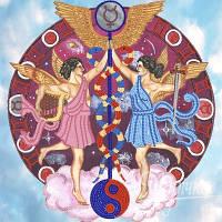 Схема для вышивки бисером  Знаки Зодиака. Близнецы РКП-007