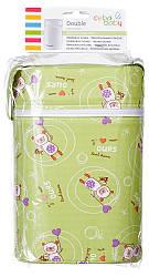 Термоконтейнер Ceba Baby Double   85*155*230мм*2шт бутылочки  салатовая (мишки с волшебной палочкой)