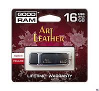 USB Флеш GOODRAM ART LEATHER 16 GB Black
