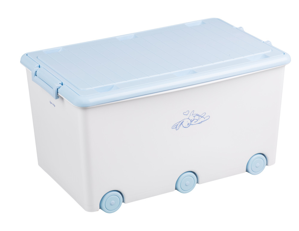 Ящик для игрушек Tega Little Bunnies KR-010 103 white