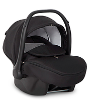 Детское автокресло-переноска для новорожденных с ручкой EasyGo Optimo anthracite 0-13 кг черное (60440)