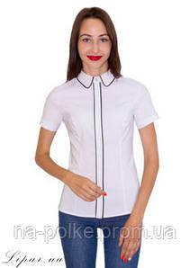 (2049) Женская Блуза Белый 46