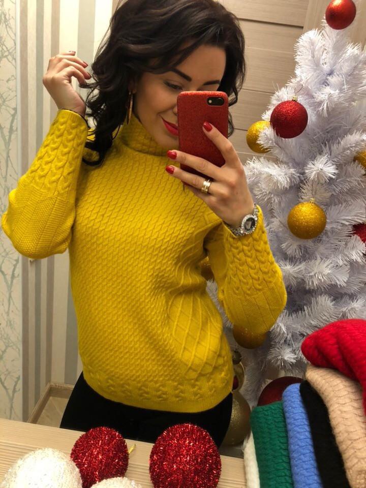 свитер вязаный желтый 460 грн свитера джемпера кофты харьков