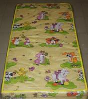 Матрас в детскую кроватку (кокос -поролон- кокос 9см)