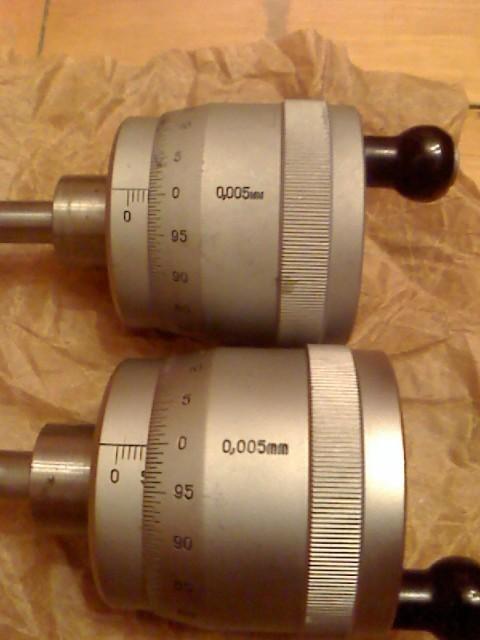 Головки микрометрические (ГЛМ-502) 0-50 мкм