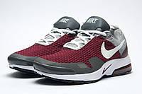 Кроссовки мужские Nike, бордовые 11332