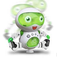 """Интерактивный Робот Танцор 360 """" свет и звук белый цвет, фото 1"""