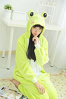 Взрослая пижама кигуруми лягушка tez0069