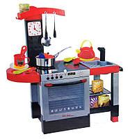 Детская кухня 011, духовка со светом, плита со звуками, раковина для мытья посуды