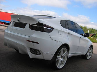 Спойлер BMW X6 E71 тюнинг AC Schnitzer