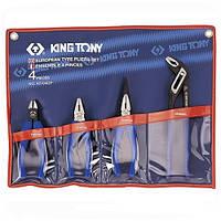 Комплект шарнирно-губцевого инструмента 4 пр. KING TONY