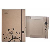 Папка-коробка для живописи А5 Smiltainis 5APL-G/NT