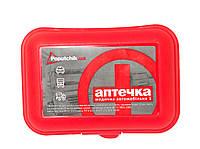 Аптечка медицинская автомобильная-1 ТМ Poputchik пластиковий футляр