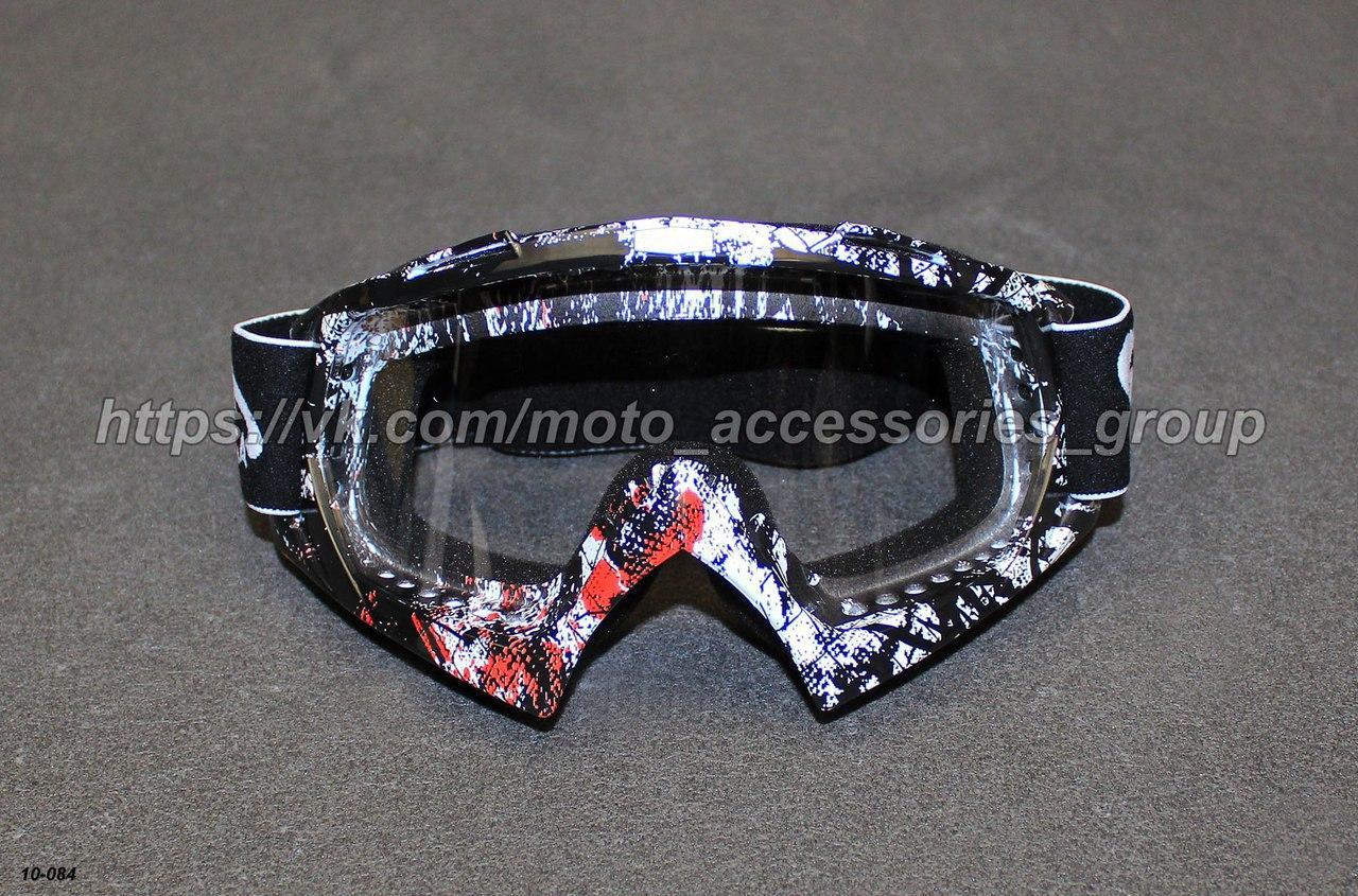 Очки кроссовые Vega MJ-16A2 прозрачные