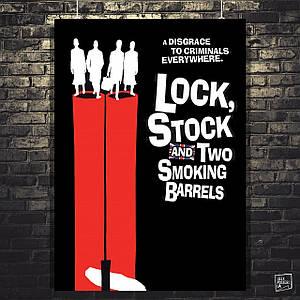 Постер Карты, деньги, два ствола. Lock stock and two smoking barrels, Гай Ричи (1998) (60x85см)