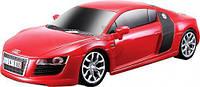 Игровая автомодель Audi R8 V10 красный (свет и звук эф) М1:24 2шт бат АА в компл MAISTO (81225 red)