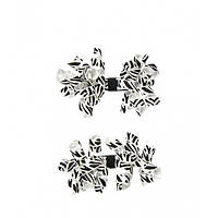 Gymboree 2 заколки для девочки Zebra Curly Hair Clip Two-Pack