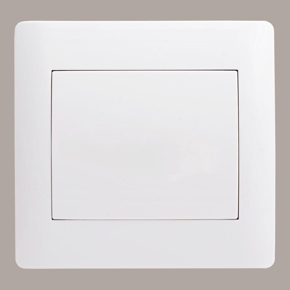 Порожня панель вимикача (з рамкою) LXL Oscar білий