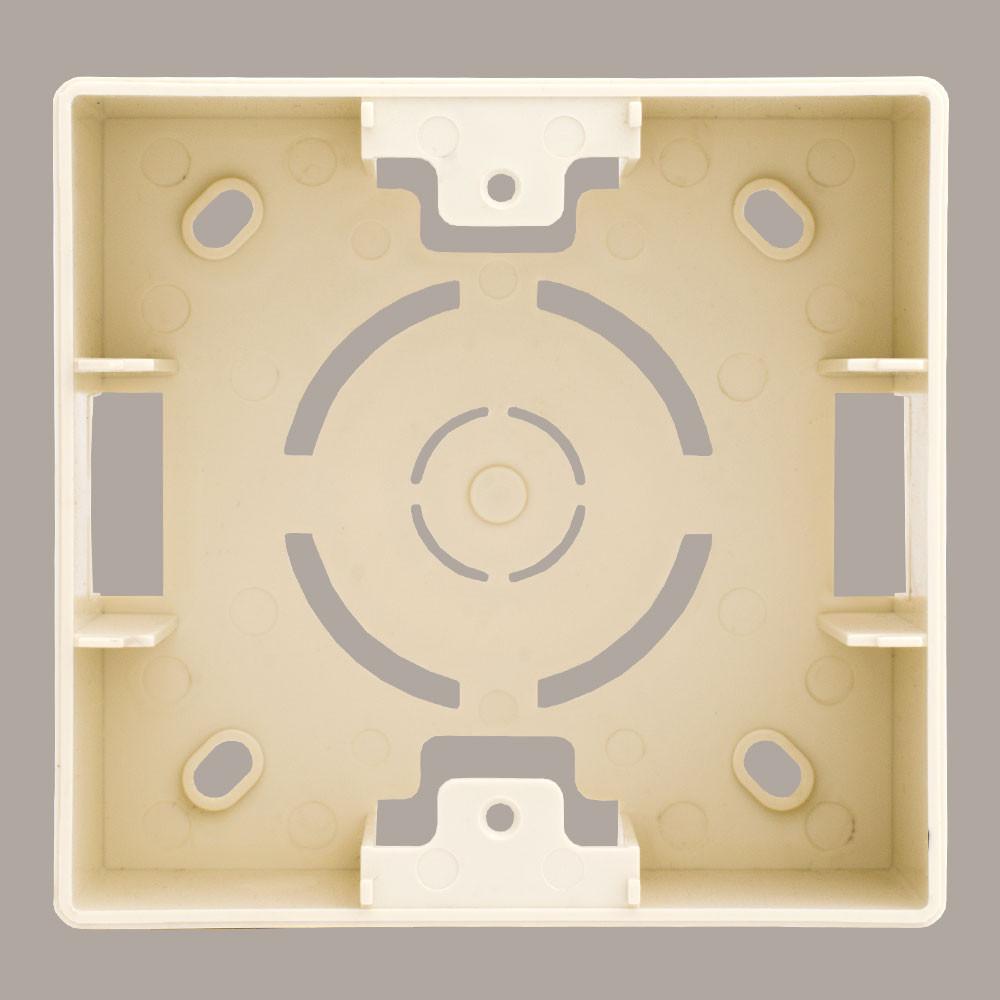 Коробка для наружного монтажа LXL Oscar кремовая