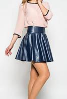 Женская юбка -солнце из кожзама в расцветках, фото 1
