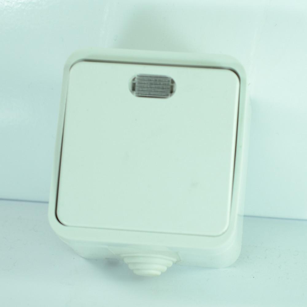 Вимикач прохідний з підсвіткою Iproof 54 LXL Orbita