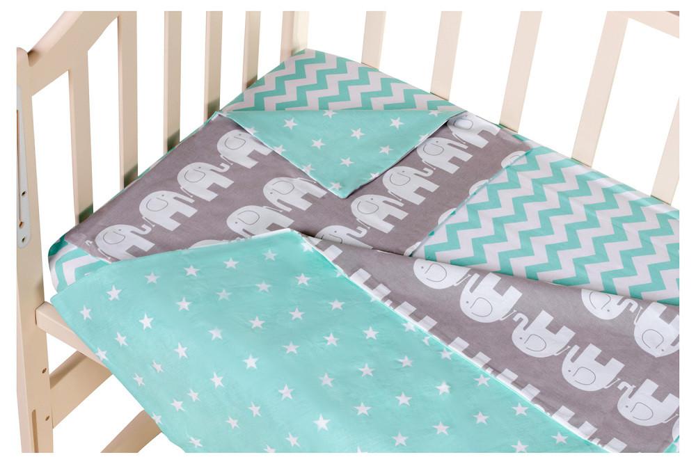Сменный комплект Babyroom SB-003  бирюзовый (звезды)