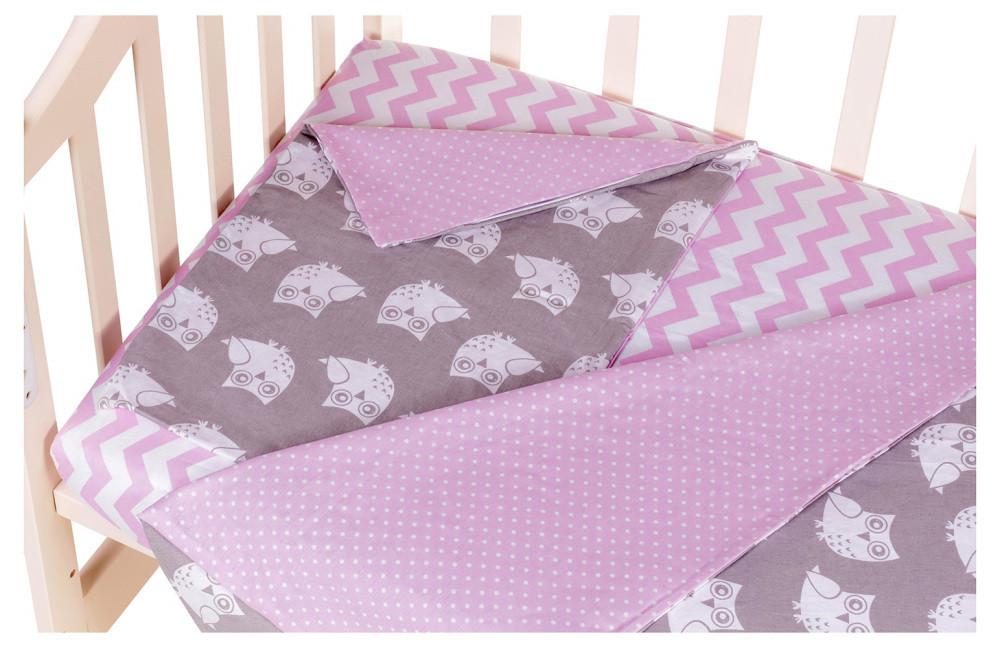 Сменный комплект Babyroom SB-003  розовый (горох)