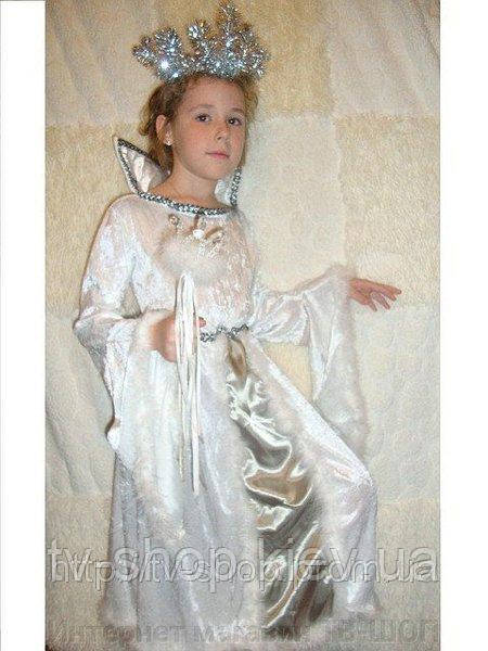 Костюм  Снежная Королева,7-8 лет