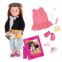 Набор Deluxe Кукла-близнец Сабина с аксессуарами и книгой (46 см), Our Generation (BD31114ATZ)